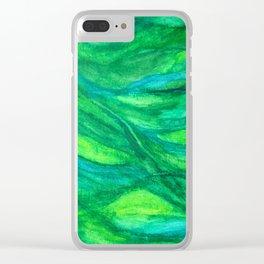 Seafloor Clear iPhone Case