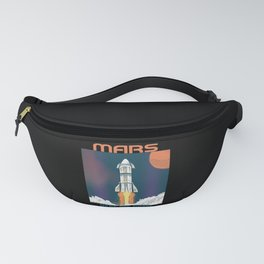 Mars Here We Come Fanny Pack