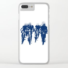 Cycling Clear iPhone Case