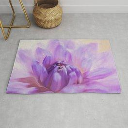 Magic Is Believing In Yourself - Flower Art Rug