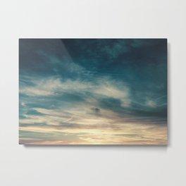 Summer Clouds Metal Print