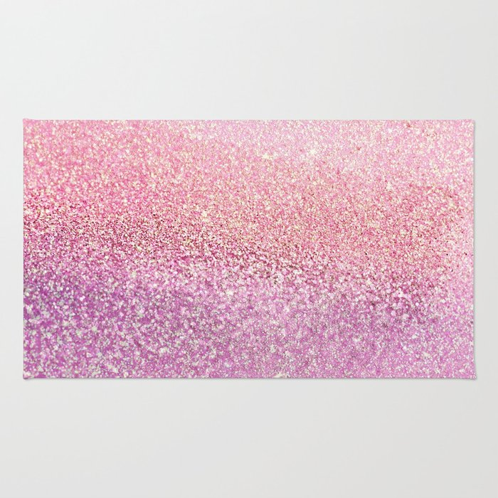 GOLD PINK Rug By Monikastrigel