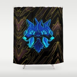 Twin Fang Shower Curtain