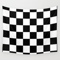 chess Wall Tapestries featuring Chess by ArtSchool