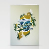 football Stationery Cards featuring Football  by ArtAngelo