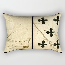 OLD BOOK TEXTURE Rectangular Pillow