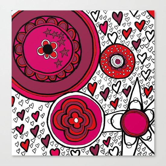 Playground Love Canvas Print