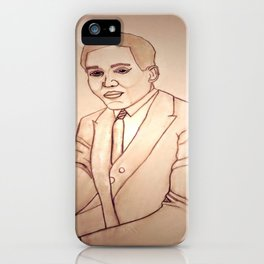 Langston Hughes by Double R iPhone Case