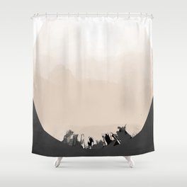b1 Shower Curtain