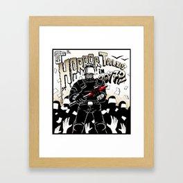 Horror Tales in Catalonia october 1st Framed Art Print