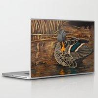 duck Laptop & iPad Skins featuring Duck by Gelanda Dunbar