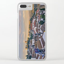Obidos in the evening Clear iPhone Case
