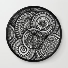 Layer of Life Wall Clock