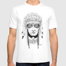 The Native White Mens Fitted Tee MEDIUM