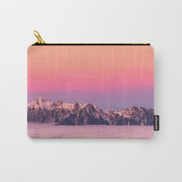 Silence over the Mountains Carry-All Pouch