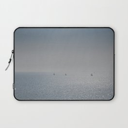 Distant Yachts  Laptop Sleeve