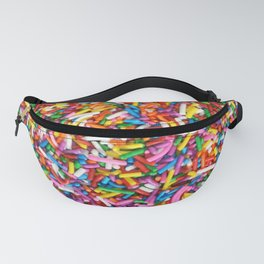 Rainbow Sprinkles Sweet Candy Colorful Fanny Pack