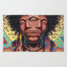 JIMI HENDRIX---ART Rug