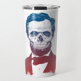 Dead Lincoln Travel Mug