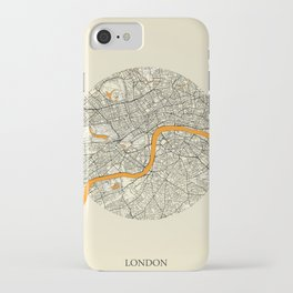 London Map Moon iPhone Case