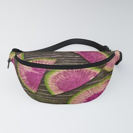 Watermelon Radishes Fanny Pack