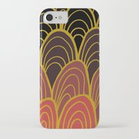 gatsby iPhone & iPod Cases featuring la soeur de Gatsby by sylvie demers