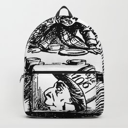 The Mad Hatter's Tea party Backpack