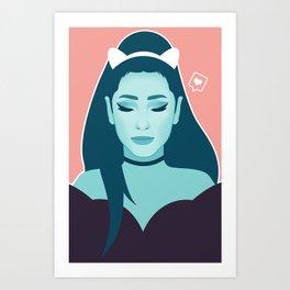 Dangerous Woman Art Print