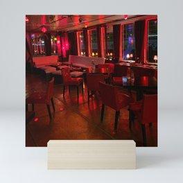 Eastern Comfort Floating Lounge, Berlin Mini Art Print