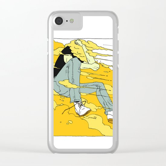 HVMR #2 Clear iPhone Case
