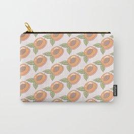Half a Peach Carry-All Pouch