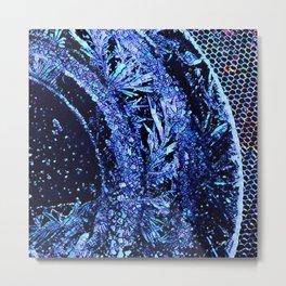 Got Frost Purple Teal by CheyAnne Sexton Metal Print