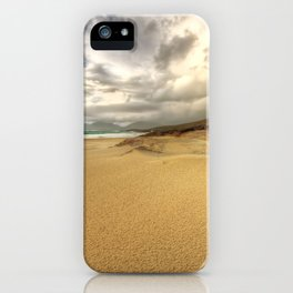 Luskentyre, Isle of Harris iPhone Case
