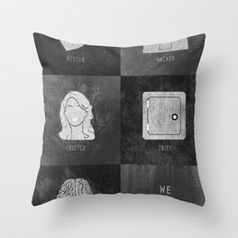 We Provide Leverage Throw Pillow