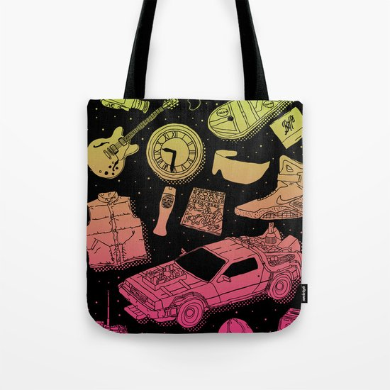 Artifacts: Back to the Future Tote Bag