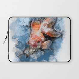 Wish on a Goldfish Laptop Sleeve