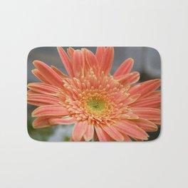 Barbeton Apricot-Melon Daisy Bath Mat