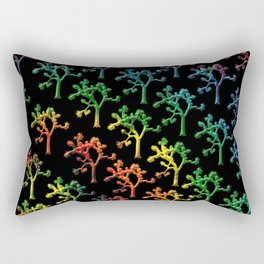 Joshua Tree Rainbow by CREYES Rectangular Pillow