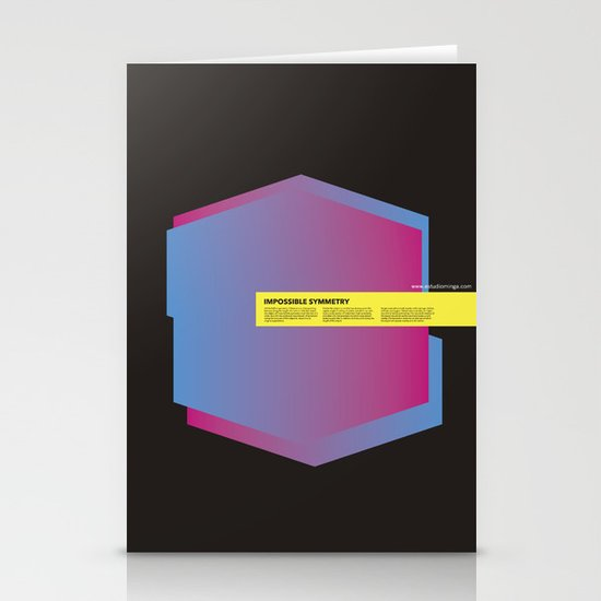 Impossible Symmetry - Ex Stationery Cards