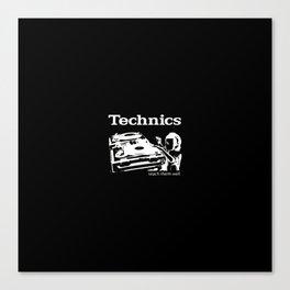 Technics Canvas Print
