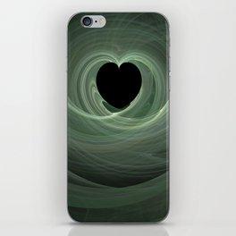 Valentine's Fractal II - Dark iPhone Skin