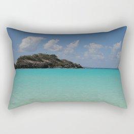 St. John, Trunk Bay Rectangular Pillow