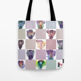 Verronica Kirei's Vulva Portrait Quilt Tote Bag