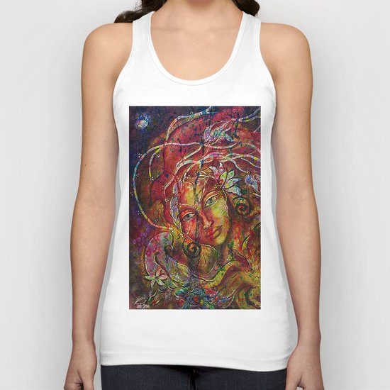 The more we rise and the more we see far. Unisex Tank Top