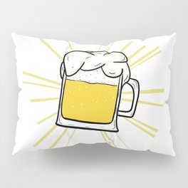 Holy Beer Tee Pillow Sham