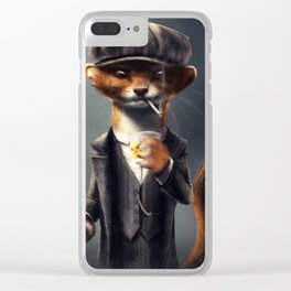 Country Club Collection #3 - By the Order Of Clear iPhone Case