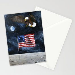 The Eagle Returns Stationery Cards