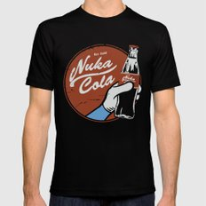 Nuka Cola Fallout drink Black Mens Fitted Tee MEDIUM
