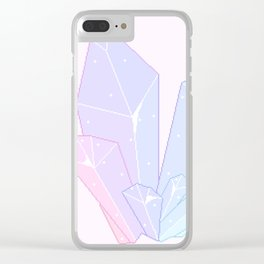Crystal Fractures Clear iPhone Case