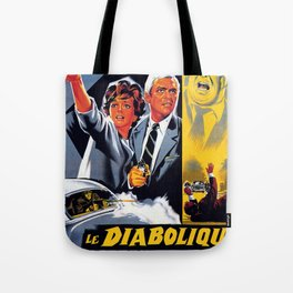 The Diabolical Doctor Mabuse Tote Bag